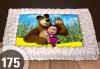 С любима снимка! Голяма детска торта 20, 25 или 30 парчета със снимка на любим герой от Сладкарница Джорджо Джани! - thumb 58
