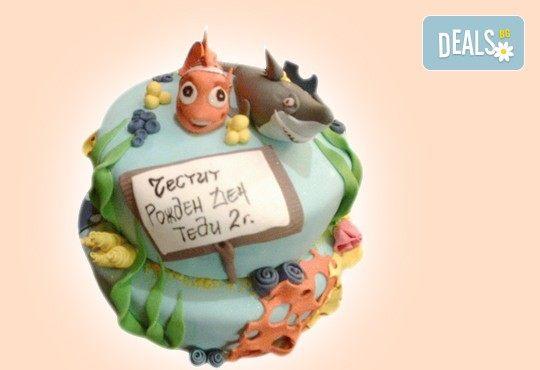Детска АРТ торта с фигурална ръчно изработена декорация с любими на децата герои от Сладкарница Джорджо Джани - Снимка 48