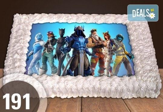 Торти за момчета! Вземете голяма торта 20/ 25/ 30 парчета със снимка на герои от любимите детски филмчета - Нинджаго, Костенурките Нинджа, Спайдърмен и други от Сладкарница Джорджо Джани! - Снимка 5