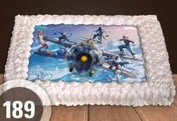 Торти за момчета! Вземете голяма торта 20/ 25/ 30 парчета със снимка на герои от любимите детски филмчета - Нинджаго, Костенурките Нинджа, Спайдърмен и други от Сладкарница Джорджо Джани! - Снимка