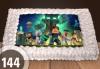 Торти за момчета! Вземете голяма торта 20/ 25/ 30 парчета със снимка на герои от любимите детски филмчета - Нинджаго, Костенурките Нинджа, Спайдърмен и други от Сладкарница Джорджо Джани! - thumb 13