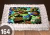 Торти за момчета! Вземете голяма торта 20/ 25/ 30 парчета със снимка на герои от любимите детски филмчета - Нинджаго, Костенурките Нинджа, Спайдърмен и други от Сладкарница Джорджо Джани! - thumb 12