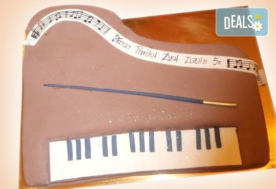 За музиканти! Торта за DJ, музиканти, певци и артисти от Сладкарница Джорджо Джани! - Снимка 5