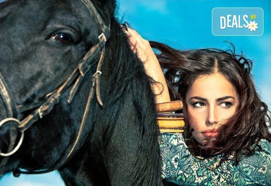 Подарете си различно изживяване с 45 минути конна езда с инструктор от конна база София – Юг, Драгалевци! - Снимка 1