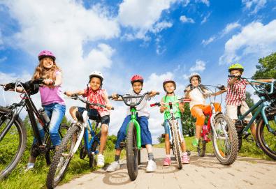 Забавление сред природата! Вело круиз в Ловния парк за до 3 или 5 деца на възраст от 7 до 17г. от Scoot! - Снимка