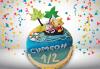 Торта за бебоци! Детска фигурална торта 1/2 за бебе на шест месеца от Сладкарница Джорджо Джани! - thumb 1