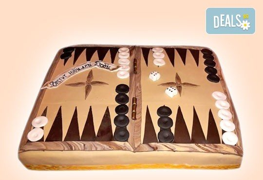 Торта за мъже с индивидуален дизайн и размери по избор от Сладкарница Джорджо Джани! - Снимка 10