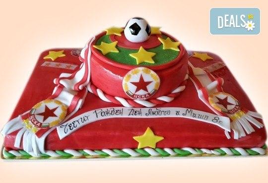 Торта за мъже с индивидуален дизайн и размери по избор от Сладкарница Джорджо Джани! - Снимка 3