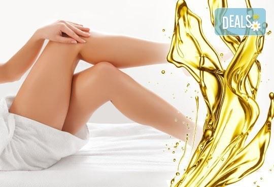 Красиви тела с антицелулитен мануален масаж на две зони със силно загряващи масла в SPA център Senses Massage & Recreation - Снимка 1