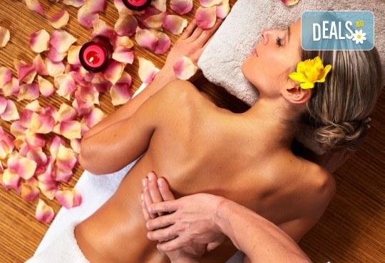 Подарък за любимата! 90 минути релакс с масло от роза: нежен пилинг, арома масаж на цяло тяло, маска за лице и зонотерапия в Спа център Senses Massage & Recreation! - Снимка 1