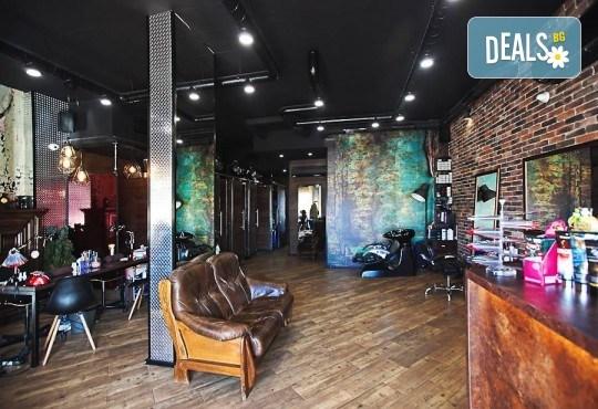 Погрижете се за косата си! Подстригване, масажно измиване, прав сешоар + кератинова преса, която подхранва косъма в дълбочина, или букли в соларно и козметично студио Моre Sun в жк. Младост 3! - Снимка 8