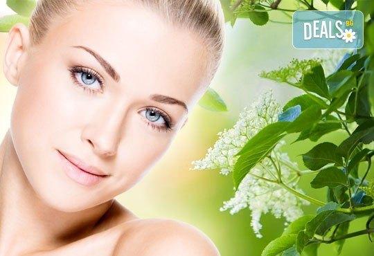 Почистване на лице и колагенова мезотерапия или антиакне терапия с био козметика на водещата немска фирма Dr. Spiller в козметично студио Beauty - Снимка 1