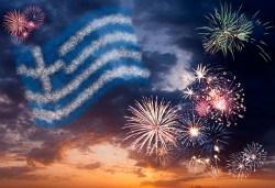 Посрещнете Нова година на остров Тасос! 3 нощувки със закуски и вечери с жива музика в хотел Ellas 2*, транспорт и разходка в Кавала! - Снимка