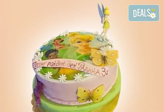 3D фигури! Страхотна фигурална торта за момичета: Замръзналото кралство, Монстар или Феята Дзън Дзън от Сладкарница Джорджо Джани - Снимка 1