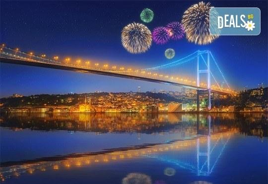 От Варна и Бургас! Посрещнете Нова година 2019 в Истанбул с Караджъ Турс! 2 нощувки със закуски в хотел 2/3*, транспорт, посещение на Одрин! - Снимка 1