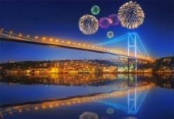От Варна и Бургас! Посрещнете Нова година 2019 в Истанбул с Караджъ Турс! 2 нощувки със закуски в хотел 2/3*, транспорт, посещение на Одрин! - Снимка
