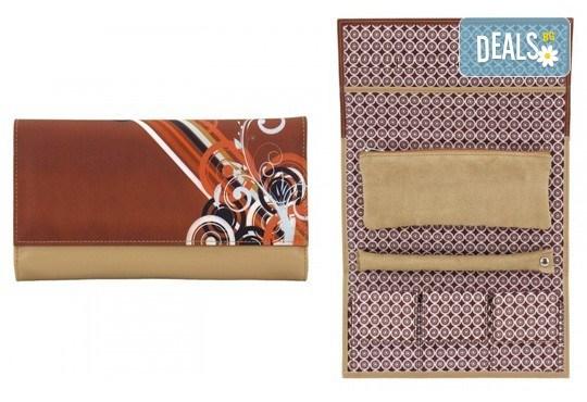 Красив и стилен подарък за любимата жена - руло за съхранение на бижута Diagona Friedrich! - Снимка 2