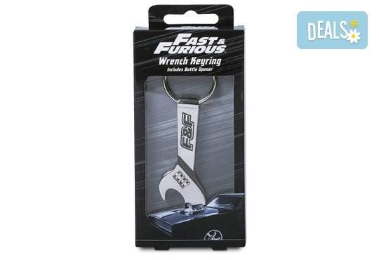 За феновете на колите! Лицензиран ключодържател-отварачка Fast and Furious! - Снимка 2