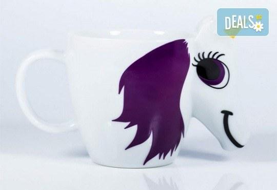 Изненадайте своето дете със сладка променяща цвета си 3D чаша с еднорог! - Снимка 4