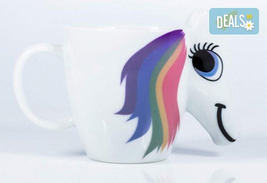Изненадайте своето дете със сладка променяща цвета си 3D чаша с еднорог! - Снимка 2