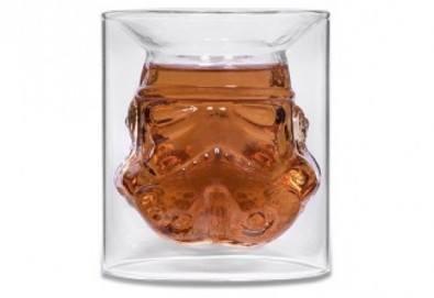 За истинските ценители - лицензирана чаша за уиски Stormtrooper с вместимост 150 мл.! - Снимка