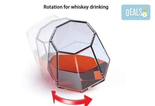 Нестандартно и оригинално! Вземете луксозен сет чаши за уиски с форма на диамант! - Снимка 3