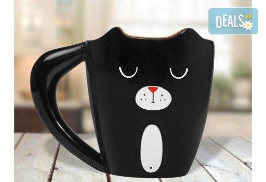 Вземете оригинална чаша за офиса или у дома във формата на коте! - Снимка 2