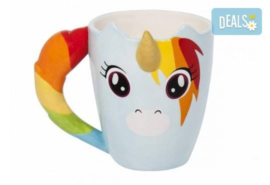Вземете симпатична керамична чаша с еднорог за подарък или за себе си! - Снимка 1