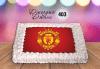 За феновете на спорта! Торта със снимка за почитателите на футбола или други спортове от Сладкарница Джорджо Джани! - thumb 7
