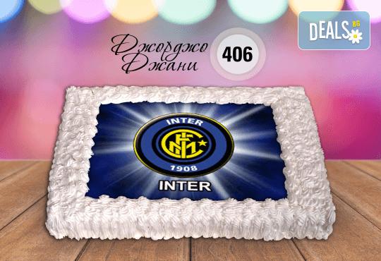 За феновете на спорта! Торта със снимка за почитателите на футбола или други спортове от Сладкарница Джорджо Джани! - Снимка 6