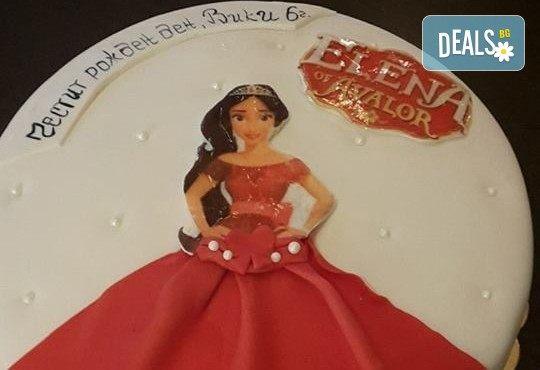 За момичета! Красиви детски торти за момичета с принцеси и приказни феи + ръчно моделирана декорация от Сладкарница Джорджо Джани - Снимка 3
