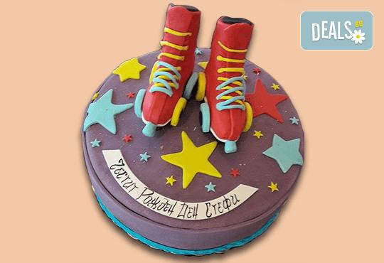 За момичета! Красиви детски торти за момичета с принцеси и приказни феи + ръчно моделирана декорация от Сладкарница Джорджо Джани - Снимка 1
