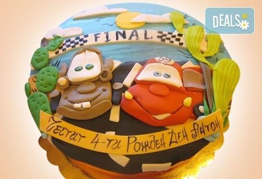 За най-малките! Детска торта с Мечо Пух, Смърфовете, Спондж Боб и други герои от Сладкарница Джорджо Джани - Снимка 15