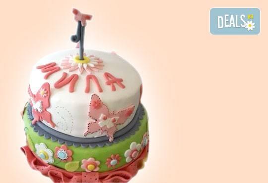 За най-малките! Детска торта с Мечо Пух, Смърфовете, Спондж Боб и други герои от Сладкарница Джорджо Джани - Снимка 31