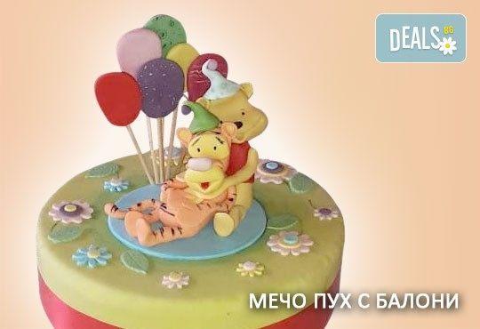 За най-малките! Детска торта с Мечо Пух, Смърфовете, Спондж Боб и други герои от Сладкарница Джорджо Джани - Снимка 29