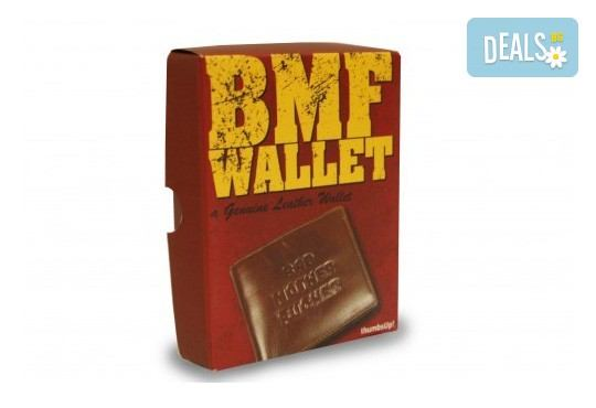 За истинските кино фенове! Вземете емблематичния портфейл от филма Криминале, изработен от естествена кожа! - Снимка 3
