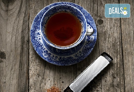 Стилен подарък за Вас или близък човек! Цедка-лъжичка за насипен чай от Drosselmeyer! - Снимка 1