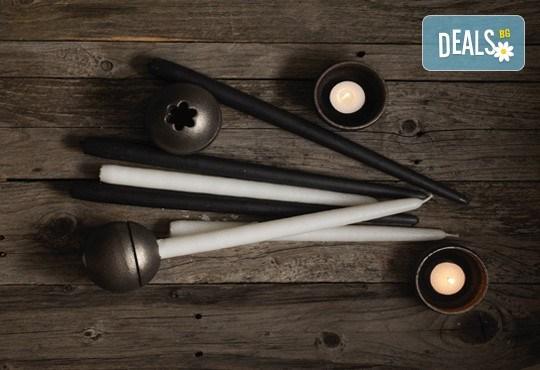 Красота от Севера! Свещник Drosselmeyer Orb с минималистичен скандинавски дизайн + безплатна доставка! - Снимка 4