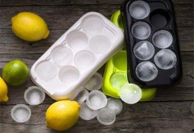 Комплект от 3 броя форми за лед от шведската фирма Drosselmeyer! - Снимка