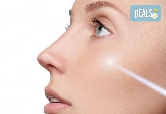 Красива и чиста кожа с почистваща и подмладяваща терапия за лице с лазер от Д-р Вълчев - сертифициран лекар дерматолог! - Снимка 3