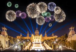 Новогодишна фиеста в Барселона с Trips2go! 5 нощувки със закуски хотел 4*, самолетен билет, трансфери, панорамни обиколки! - Снимка