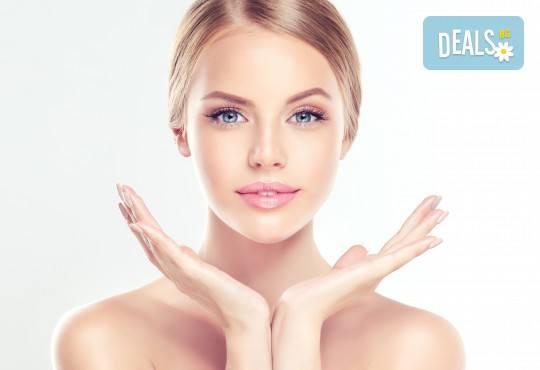 Терапия с гликолов пилинг за изсветляване на пигментни петна, изглаждане на проблемна кожа и фини бръчици в козметично студио Ма Бел! - Снимка 2