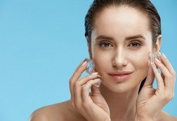 Дълбоко почистваща терапия за лице и криотерапия за затваряне на порите от Sunflower beauty studio! - Снимка