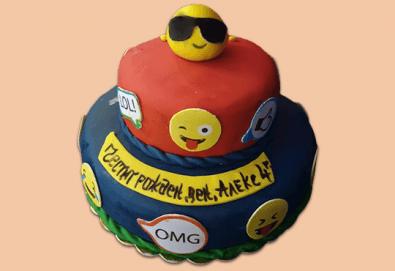 ПАРТИ торта с фигурална ръчно изработена декорация с любими на децата герои от Сладкарница Джорджо Джани