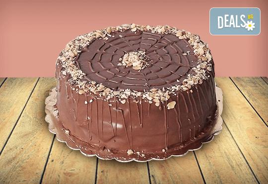 Торта 'Магия' с шоколадови блатове и течен шоколад от Джорджо Джани
