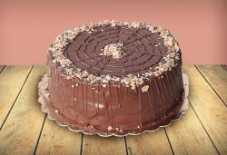 Шоколадова торта Магия с 8, 12 или 16 парчета от майстор-сладкарите на сладкарница Джорджо Джани! - Снимка