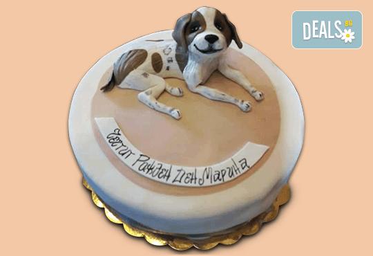 За Вашия домашен любимец! Торта за Рожден ден на Вашия домашен приятел: куче, котка, рибка или др. с тематична декорация от Сладкарница Джорджо Джани! - Снимка 1