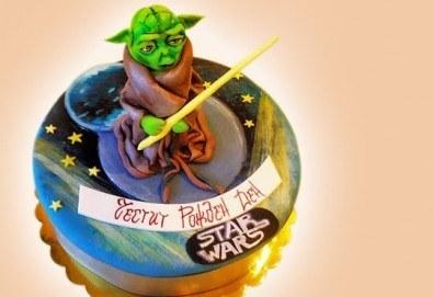 За момчета! Детска торта за момчета с коли и герои от филмчета с ръчно моделирана декорация от Сладкарница Джорджо Джани