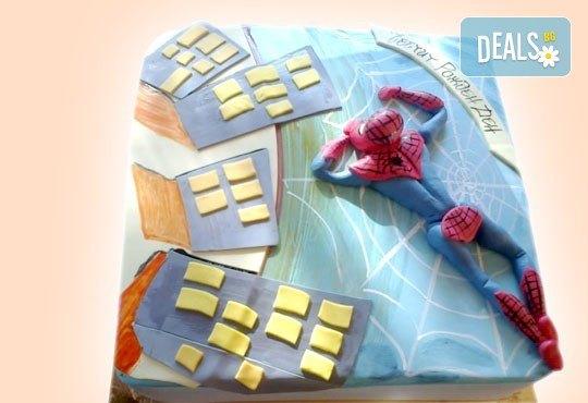 25 парчета! Детска 3D торта с фигурална ръчно изработена декорация от Сладкарница Джорджо Джани - Снимка 24