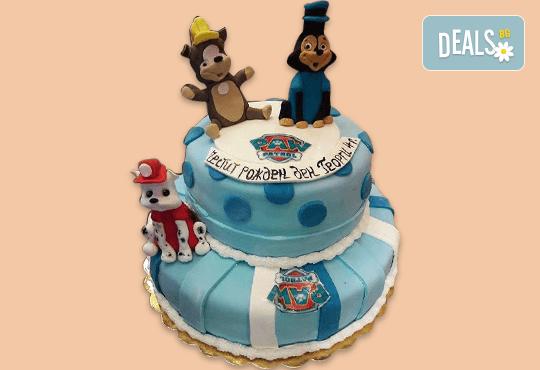25 парчета! Детска 3D торта с фигурална ръчно изработена декорация от Сладкарница Джорджо Джани - Снимка 5